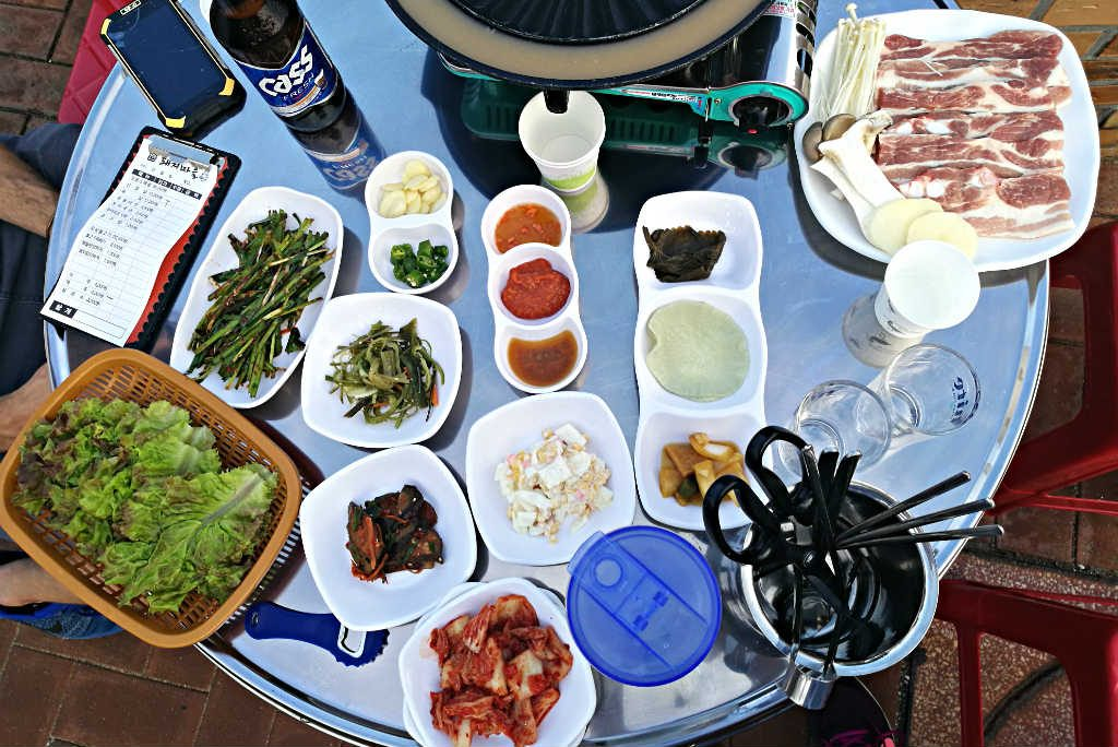 You cannot go wrong when ordering a Korean BBQ