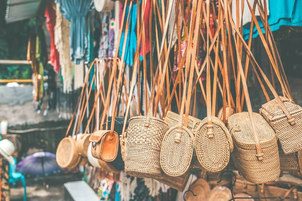 Beautiful crafts from the Ubud markets