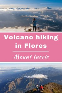 Hiking Mount Inerie in Flores, Indonesia