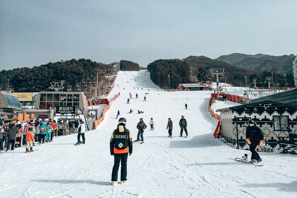 Best places to snowboard in Korea