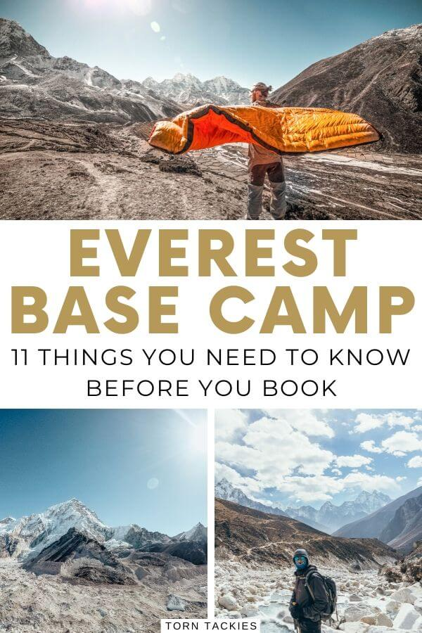 How hard is the Everest Base Camp trek - Torn Tackies Travel Blog